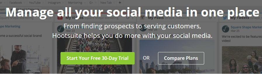 مدیریت فضای مجازی با کمک HootSuite