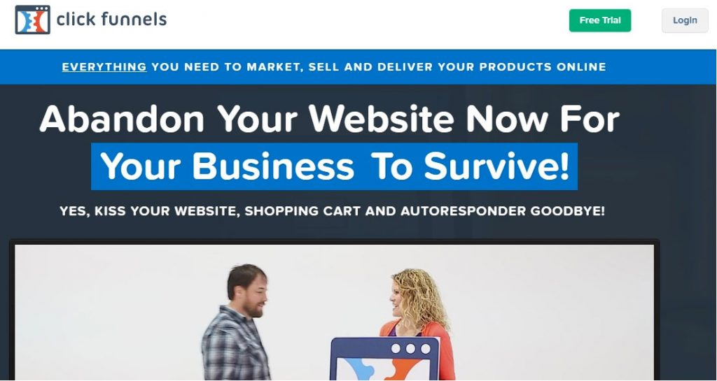 ایجاد کانال فروش با ClickFunnels