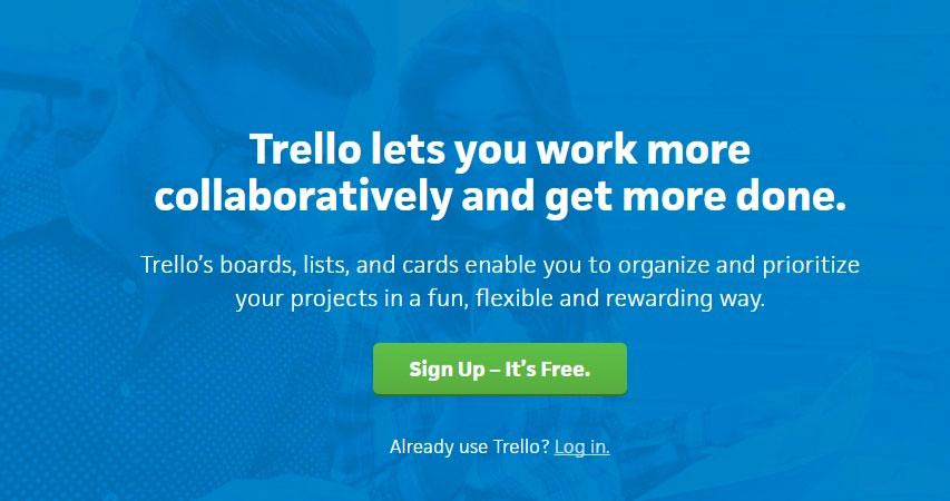 مدیریت کار گروهی با Trello