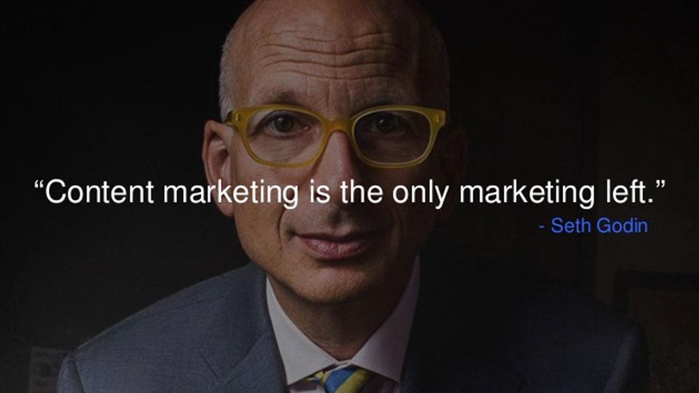 نظر ست گودین درباره بازاریابی محتوایی