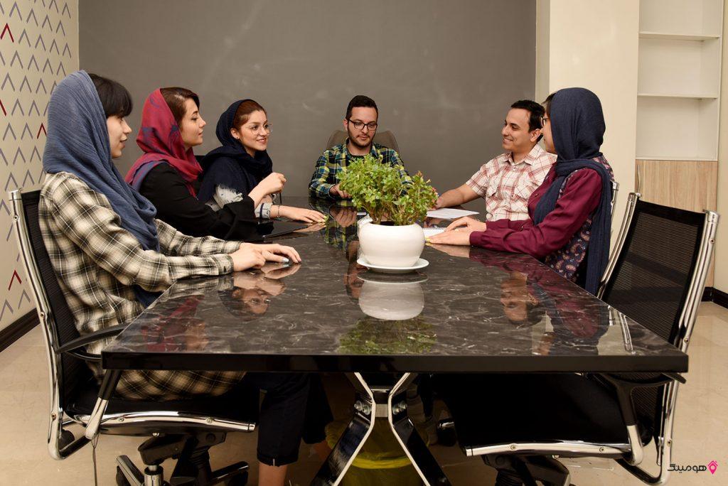 تیم بازاریابی دیجیتال هومینگ