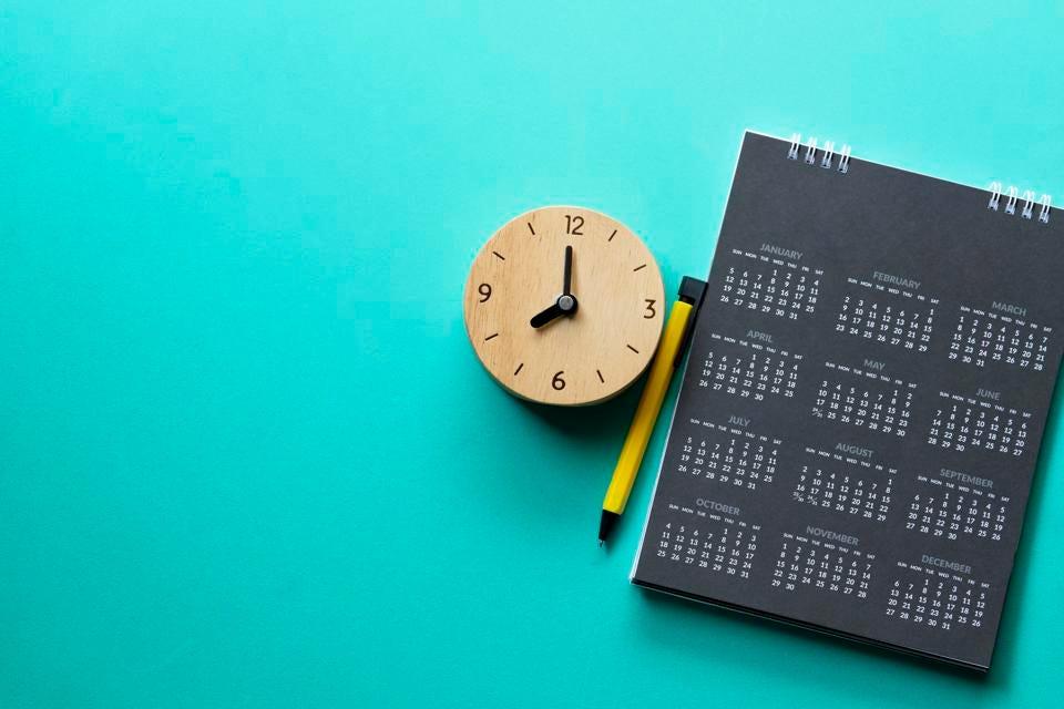 تقویم برای افزایش بهره وری نوشتن